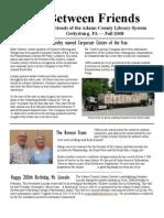 FALL Newsletter 2008