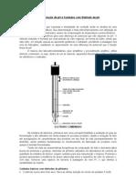 Determinação de pH e Cuidados com Eletrodo de pH
