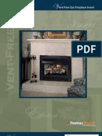 Vent-Free Fireplace Inserts (FA3594-0410)