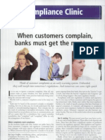 When Customers Complain, Banks Must Get the Message
