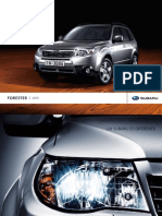 Catalogo Forester 2010
