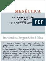 HERMENÊUTICA - Aula 01