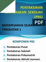 Pembentangan PBS Sejarah Form 1