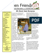Summer Newsletter 2010