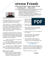 Winter Newsletter 2009