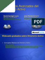Conceptos Avanzados de Directorio Activo