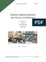 Plugin-Industrial Lighting Guidelines