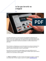 7 Razones Por Las Que Invertir en Publicidad Digital