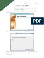 Configurar Una Cuenta IMAP en Outlook 2007