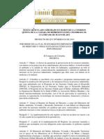 Articulado Comision Pl 038 2010 c Uso Del Merucrio