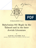 Babylonian Oil Magic s Daiches