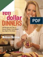 Recipes From Ten Dollar Dinners by Melissa d'Arabian