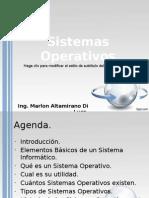 Clase_1 - Introduccion Sistemas Operativos