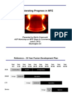 Accelerating Progress in Magnetic Fusion Energy