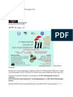 2nd Indonesia Salon of Art Photography 2012