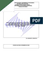 Evaluacion Gestion Costos Red Cloacas Distrito San Tome Pdvsa