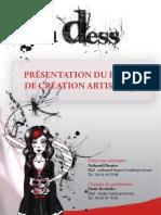 Ana Dess - Projet Artistique 2011