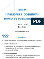 Conferencia Didatica Do Pensamento Critico - EnEM