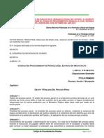 CÓDIGO DE PROCEDIMIENTOS PENALES DEL ESTADO DE MICHOACÁN