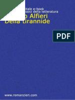 Della Tirannide - Vittorio Alfieri