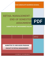 Retail Management- Short Questions SSSS