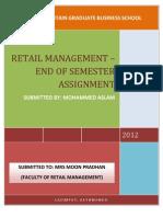 Retail Management- Short Questions SSSS
