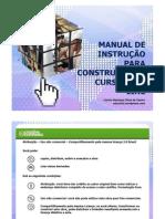 Manual de Instruções para a Construção de Cursos On-line