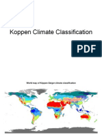 (a) Tropical Koppen Climate Classification