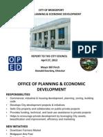 Economic Development Report to City Council 4.27.12