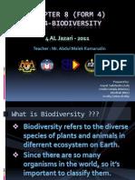 Biology - Biodiversity Form 4