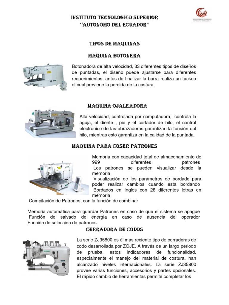 Maquina Botonera