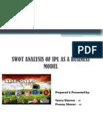 SWOT IPL