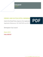 HollisVincent Report - Denso and Eaton Sites Birmingham - Final Report 1st March 2012