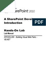 Building Visual Web Parts