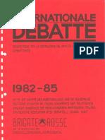 Dokumentensammlung Brigate Rosse 1982-1985