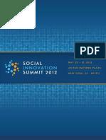 Social Innovation Summit 2012_Brochure