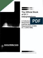 AWS D1.1 Interpretation