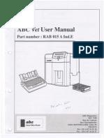 Scil ABC Vet User Manual