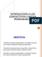 Introduccion a Los Dispositivos Logicos Programables