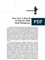 David Montgomery - An Interview