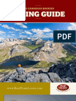 Canadian Rockies Hiking Guide