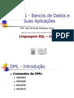 Aula11 SQL Dml