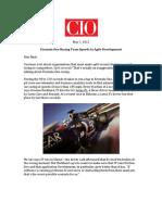 CIO, May 7, 2012, iRise