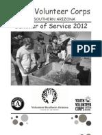 Summer of Service Flier 2012