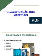 Lidice 02 - Classificação dos materiais