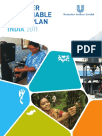 Unilever Sustainable Living Plan India 2011 Progress Report Tcm114 241468