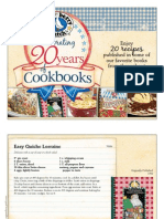 Celebrating 20 Years of Cookbooks with Gooseberry Patch