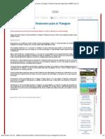 05-06-2012 Definirán esquema financiero para el Tianguis Turístico - diariocambio.com.mx