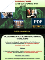 LET´S PRACTICE OUR SPEAKING WITH MOVIES