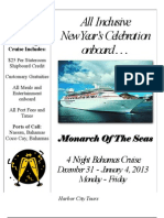 New Year's Celebration Monarch 12.31.12
